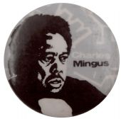Charles Mingus - 'Sketch' Button Badge